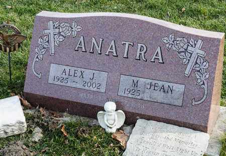 ANATRA, ALEX J - Crawford County, Ohio | ALEX J ANATRA - Ohio Gravestone Photos