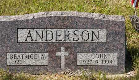 ANDERSON, I. JOHN - Crawford County, Ohio   I. JOHN ANDERSON - Ohio Gravestone Photos