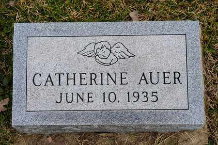 AUER, CATHERINE - Crawford County, Ohio | CATHERINE AUER - Ohio Gravestone Photos