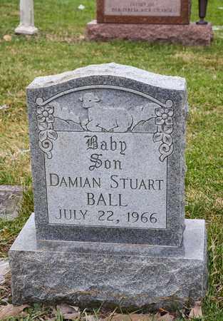 BALL, DAMIAN STUART - Crawford County, Ohio | DAMIAN STUART BALL - Ohio Gravestone Photos