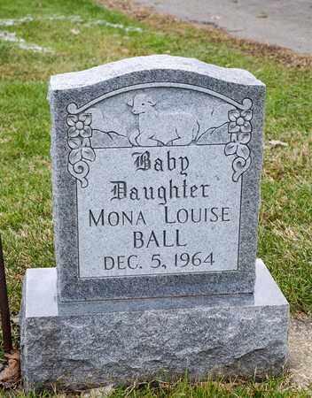 BALL, MONA LOUISE - Crawford County, Ohio | MONA LOUISE BALL - Ohio Gravestone Photos