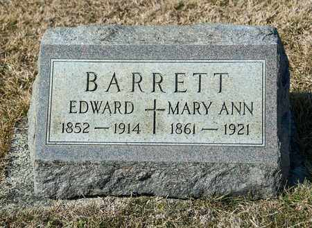 BARRETT, MARY ANN - Crawford County, Ohio | MARY ANN BARRETT - Ohio Gravestone Photos