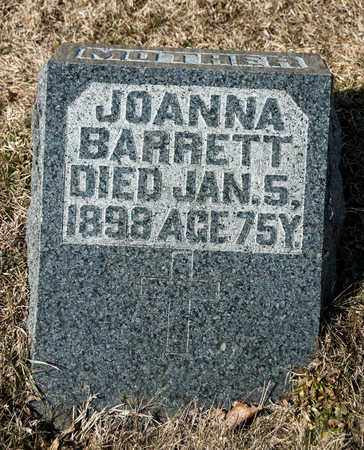 BARRETT, JOANNA - Crawford County, Ohio | JOANNA BARRETT - Ohio Gravestone Photos