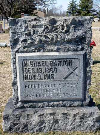 BARTON, MICHAEL - Crawford County, Ohio | MICHAEL BARTON - Ohio Gravestone Photos