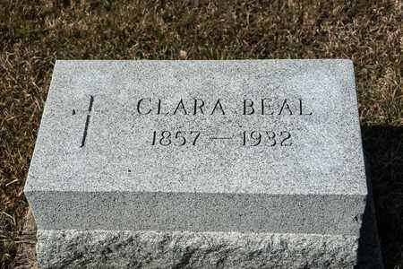 BEAL, CLARA - Crawford County, Ohio | CLARA BEAL - Ohio Gravestone Photos