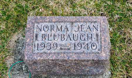 BLUBAUGH, NORMA JEAN - Crawford County, Ohio | NORMA JEAN BLUBAUGH - Ohio Gravestone Photos