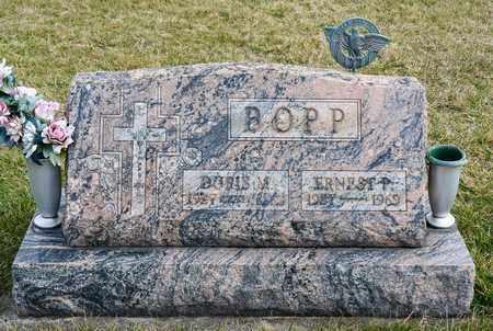 BOPP, ERNEST P - Crawford County, Ohio | ERNEST P BOPP - Ohio Gravestone Photos