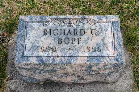 BOPP, RICHARD C - Crawford County, Ohio | RICHARD C BOPP - Ohio Gravestone Photos