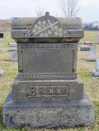 BREEN, HONORA - Crawford County, Ohio | HONORA BREEN - Ohio Gravestone Photos