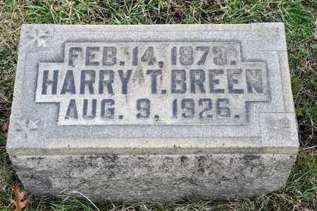 BREEN, HARRY T - Crawford County, Ohio | HARRY T BREEN - Ohio Gravestone Photos