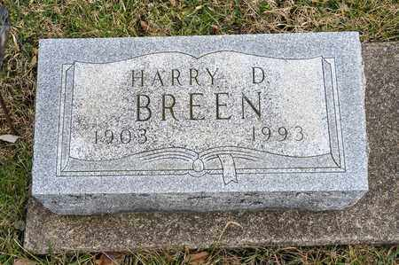 BREEN, HARRY D - Crawford County, Ohio | HARRY D BREEN - Ohio Gravestone Photos