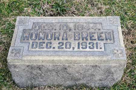 BREEN, HONORA - Crawford County, Ohio | HONORA BREEN - Ohio Gravestone Photos