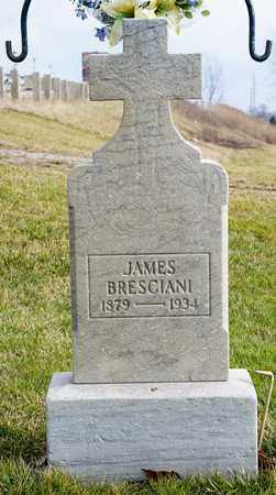 BRESCIANI, JAMES - Crawford County, Ohio | JAMES BRESCIANI - Ohio Gravestone Photos