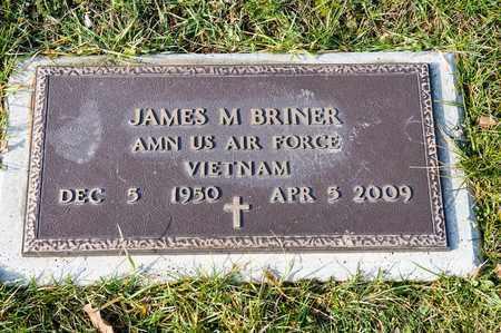 BRINER, JAMES M - Crawford County, Ohio | JAMES M BRINER - Ohio Gravestone Photos