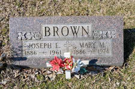 BROWN, MARY M - Crawford County, Ohio | MARY M BROWN - Ohio Gravestone Photos