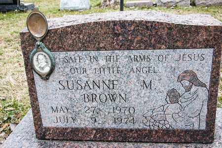 BROWN, SUSANNE M - Crawford County, Ohio | SUSANNE M BROWN - Ohio Gravestone Photos