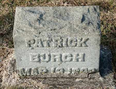 BURCH, PATRICK - Crawford County, Ohio | PATRICK BURCH - Ohio Gravestone Photos