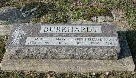 BURKHARDT, MARY ELIZABETH - Crawford County, Ohio | MARY ELIZABETH BURKHARDT - Ohio Gravestone Photos