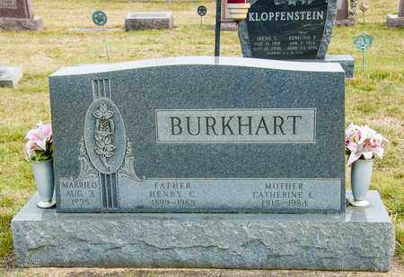 BURKHART, CATHERINE E - Crawford County, Ohio | CATHERINE E BURKHART - Ohio Gravestone Photos
