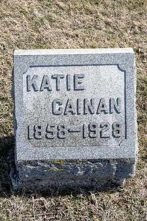 CAINAN, KATIE - Crawford County, Ohio | KATIE CAINAN - Ohio Gravestone Photos