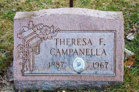 CAMPANELLA, THERESA F - Crawford County, Ohio | THERESA F CAMPANELLA - Ohio Gravestone Photos