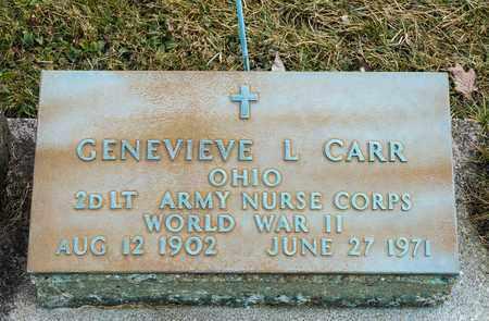 CARR, GENEVIEVE L - Crawford County, Ohio   GENEVIEVE L CARR - Ohio Gravestone Photos