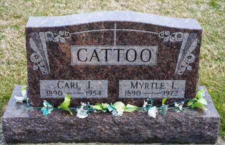 CATTOO, CARL J - Crawford County, Ohio | CARL J CATTOO - Ohio Gravestone Photos