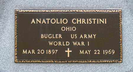 CHRISTINI, ANATOLIO - Crawford County, Ohio | ANATOLIO CHRISTINI - Ohio Gravestone Photos