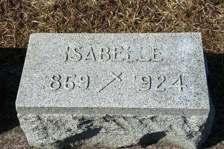 CLEMENS, ISABELLE - Crawford County, Ohio | ISABELLE CLEMENS - Ohio Gravestone Photos