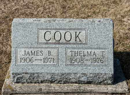 COOK, JAMES B - Crawford County, Ohio | JAMES B COOK - Ohio Gravestone Photos