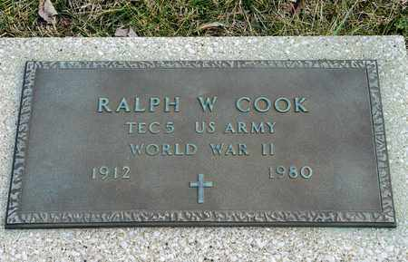 COOK, RALPH W - Crawford County, Ohio | RALPH W COOK - Ohio Gravestone Photos