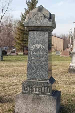 COSTELLO, JOHANNA - Crawford County, Ohio | JOHANNA COSTELLO - Ohio Gravestone Photos