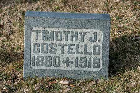 COSTELLO, TIMOTHY J - Crawford County, Ohio | TIMOTHY J COSTELLO - Ohio Gravestone Photos