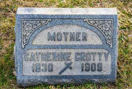 CROTTY, CATHERINE - Crawford County, Ohio | CATHERINE CROTTY - Ohio Gravestone Photos