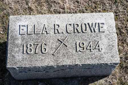 CROWE, ELLA R - Crawford County, Ohio | ELLA R CROWE - Ohio Gravestone Photos