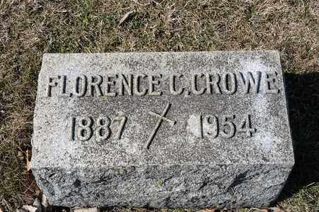 CROWE, FLORENCE C - Crawford County, Ohio | FLORENCE C CROWE - Ohio Gravestone Photos
