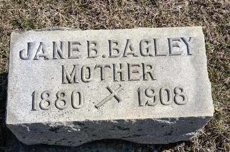 BAGLEY CROWE, JANE B - Crawford County, Ohio | JANE B BAGLEY CROWE - Ohio Gravestone Photos