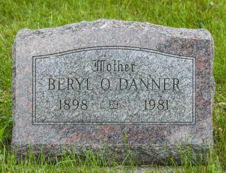 DANNER, BERYL O - Crawford County, Ohio | BERYL O DANNER - Ohio Gravestone Photos