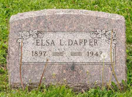 DAPPER, ELSA L. - Crawford County, Ohio | ELSA L. DAPPER - Ohio Gravestone Photos