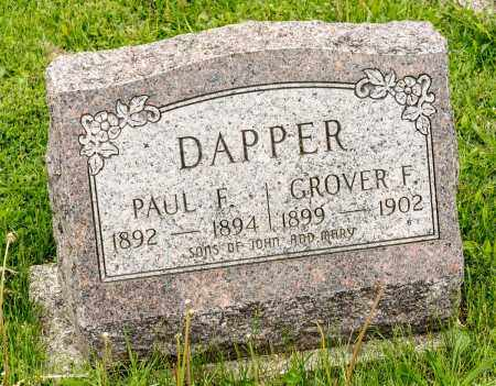 DAPPER, PAUL F. - Crawford County, Ohio | PAUL F. DAPPER - Ohio Gravestone Photos