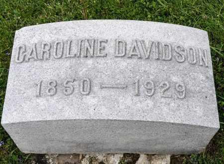 COOK DAVIDSON, CAROLINE - Crawford County, Ohio | CAROLINE COOK DAVIDSON - Ohio Gravestone Photos