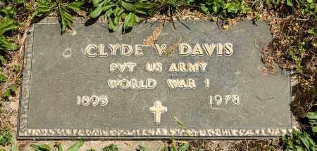 DAVIS, CLYDE V. - Crawford County, Ohio | CLYDE V. DAVIS - Ohio Gravestone Photos