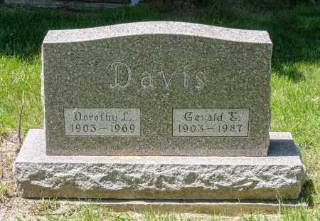 DAVIS, DOROTHY L. - Crawford County, Ohio | DOROTHY L. DAVIS - Ohio Gravestone Photos