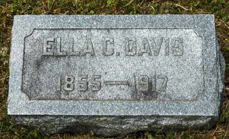 CARPENTER DAVIS, ELLA - Crawford County, Ohio | ELLA CARPENTER DAVIS - Ohio Gravestone Photos