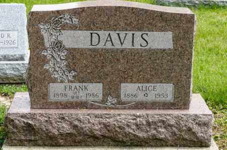 DAVIS, FRANK - Crawford County, Ohio | FRANK DAVIS - Ohio Gravestone Photos