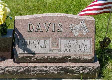 DAVIS, JACK J. - Crawford County, Ohio | JACK J. DAVIS - Ohio Gravestone Photos