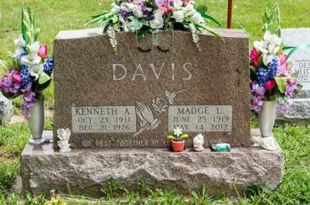 DAVIS, KENNETH A. - Crawford County, Ohio | KENNETH A. DAVIS - Ohio Gravestone Photos