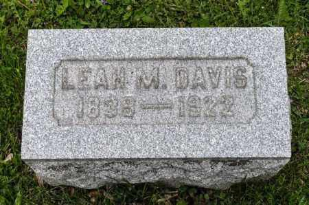DAVIS, LEAH - Crawford County, Ohio | LEAH DAVIS - Ohio Gravestone Photos