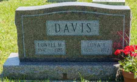 DAVIS, LOWELL M. - Crawford County, Ohio | LOWELL M. DAVIS - Ohio Gravestone Photos
