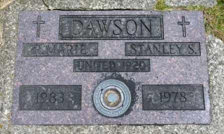 DAWSON, STANLEY S. - Crawford County, Ohio | STANLEY S. DAWSON - Ohio Gravestone Photos
